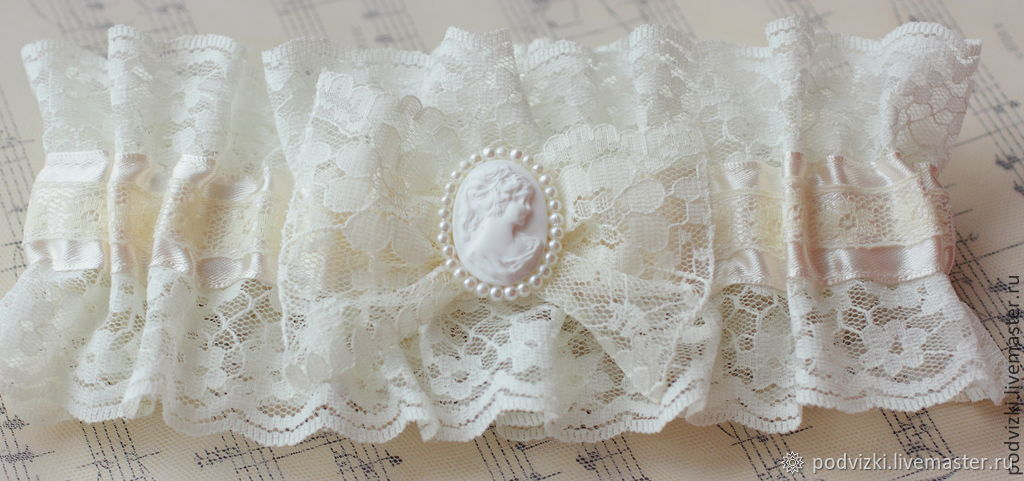 392b9bf97 My Livemaster · Clothing   Accessories handmade. Garter for wedding bride  Retro. Wedding Dreams. My Livemaster ...