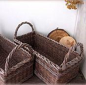 Для дома и интерьера handmade. Livemaster - original item baskets wicker