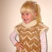 Работы для детей, handmade. Livemaster - original item The vest is