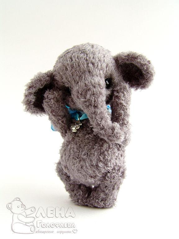 по вязанию слоника Архипа.