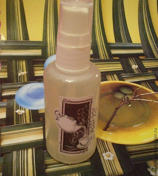 """Маски для волос ручной работы. Ярмарка Мастеров - ручная работа. Купить Спрей для роста волос """"Белый чай"""". Handmade. Оливковый"""