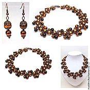 Украшения handmade. Livemaster - original item Necklace beads made of natural stones and beads. Handmade.