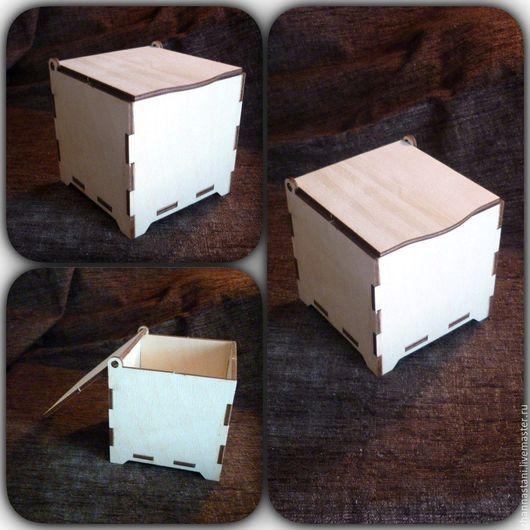 1. Заготовка одинарной шкатулки Размер: 10 х 10 х 10 см Материал: Фанера 4 мм Цена 180 р.