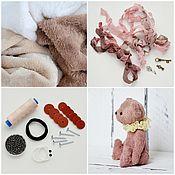 Куклы и игрушки handmade. Livemaster - original item Sewing kit Teddy bear + tutorial + teddy bear pattern. Handmade.