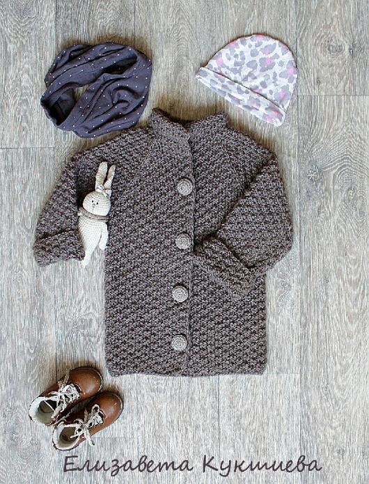 Одежда для девочек, ручной работы. Ярмарка Мастеров - ручная работа. Купить Вязаное пальто для девочки. Handmade. Пальто для девочки