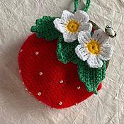 Кошельки ручной работы. Ярмарка Мастеров - ручная работа Кошельки: ягодка. Handmade.
