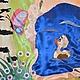 Текстиль, ковры ручной работы. Ярмарка Мастеров - ручная работа. Купить Лето. Речка. Штора для Детского сада. Handmade. Разноцветный
