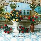 Куклы и игрушки handmade. Livemaster - original item Flowers.Miniature.Roses. 1:12. Handmade.