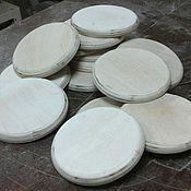 Материалы для творчества handmade. Livemaster - original item Round plywood blank 011. Handmade.