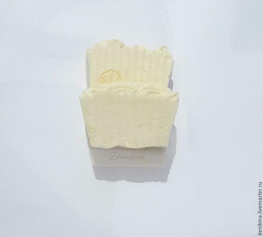 """Мыло ручной работы. Ярмарка Мастеров - ручная работа. Купить """"Ангел"""", мыло с жиром козьего молока. Handmade. Белый, Деникина"""