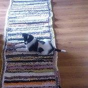 """Ковры ручной работы. Ярмарка Мастеров - ручная работа ковровая дорожка """"деревенская"""". Handmade."""