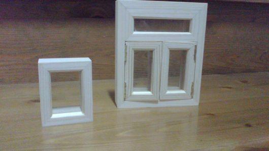 Кукольный дом ручной работы. Ярмарка Мастеров - ручная работа. Купить Окна для кукольного домика.. Handmade. Белый, дверь, окна