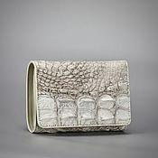 Сумки и аксессуары handmade. Livemaster - original item Small size crocodile leather wallet. Handmade.