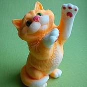 """Мыло ручной работы. Ярмарка Мастеров - ручная работа Мыло """"Рыжий кот"""". Handmade."""