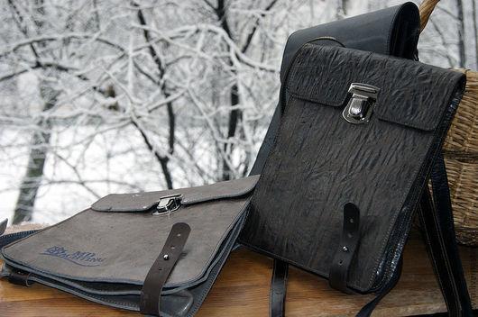 Практичная сумка для мужчины серьезной профессии.