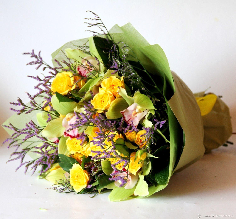 Как красиво упаковать букет цветов в крафт бумагу ...