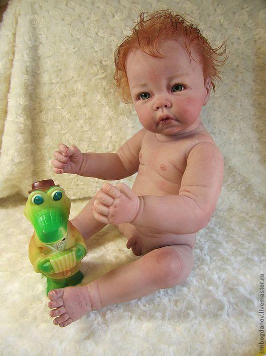 Куклы-младенцы и reborn ручной работы. Ярмарка Мастеров - ручная работа. Купить Кукла реборн Елисейка.. Handmade. Куклы реборн