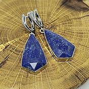 Украшения handmade. Livemaster - original item Earrings with Lapis lazuli Setti. Handmade.