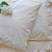 Подарки ручной работы. Ярмарка Мастеров - ручная работа Подарок на свадьбу.   Комплект постельного белья с нежным  для спальни. Handmade.