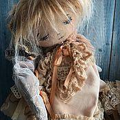Куклы и игрушки ручной работы. Ярмарка Мастеров - ручная работа Соня кукла текстильная. Handmade.