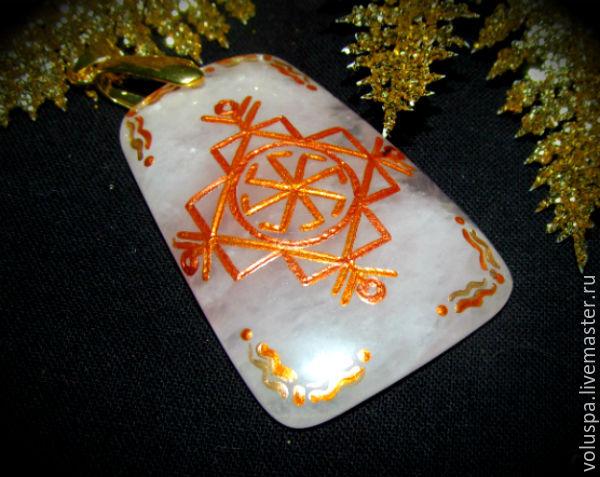 Charms, Talismans & Amulets handmade. Livemaster - handmade. Buy 'Female charm', runic talisman made of natural stone.