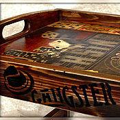 Для дома и интерьера ручной работы. Ярмарка Мастеров - ручная работа столик для завтрака GANGSTER. Handmade.
