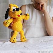 Куклы и игрушки handmade. Livemaster - original item Doggie yellow.. Handmade.