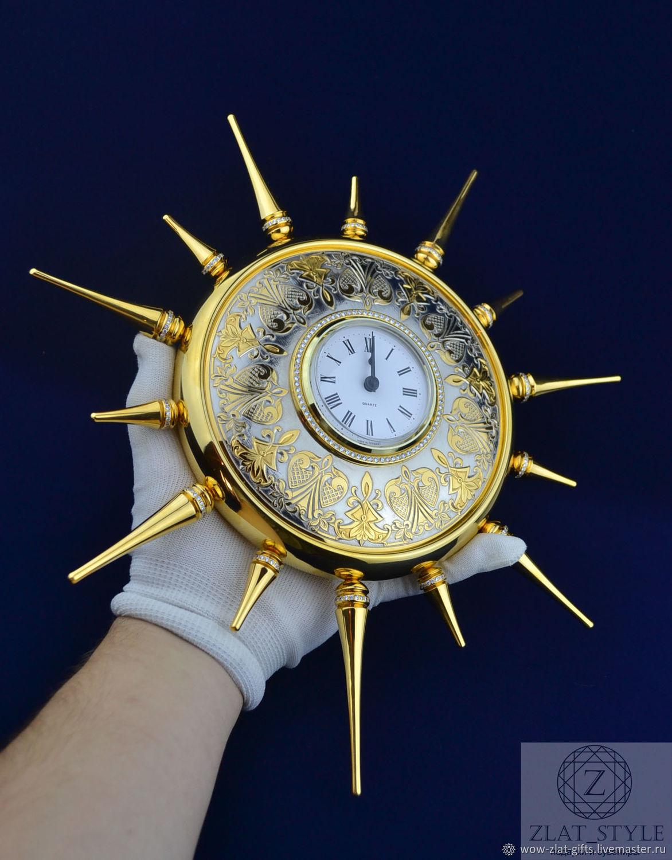 Wall CLOCK Zlatoust, Watch, Chrysostom,  Фото №1