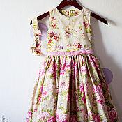 Работы для детей, ручной работы. Ярмарка Мастеров - ручная работа Платье на девочку. Handmade.