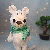 Куклы и игрушки handmade. Livemaster - original item White tiger. Handmade.