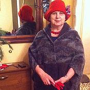 Одежда ручной работы. Ярмарка Мастеров - ручная работа Легкое пальто кокон  из лодена (48-54). Handmade.