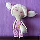 Коллекционные куклы ручной работы. Ярмарка Мастеров - ручная работа. Купить Соня. Handmade. Примитивная кукла, розовый, сонный ангел