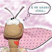 Куклы и игрушки ручной работы. Ярмарка Мастеров - ручная работа Бабочка с сумасшедшинкой или весеннее обострение чешуекрылой. Handmade.