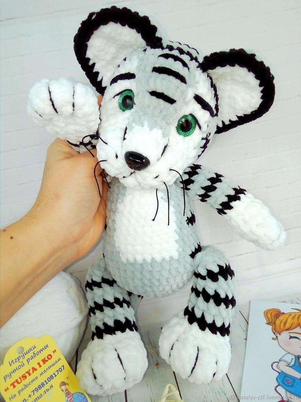 Вязаный тигр. Символ 2022 года, Мягкие игрушки, Георгиевск,  Фото №1