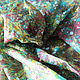 """Шарфы и шарфики ручной работы. Заказать """"Красочный звездопад  в эбру на шелке"""", платок с риснками на воде.. Ann Iva (ebru). Ярмарка Мастеров."""