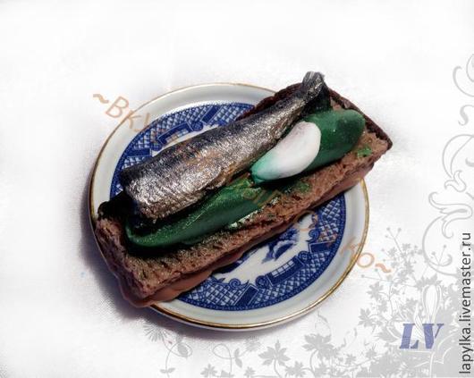 """Мыло ручной работы. Ярмарка Мастеров - ручная работа. Купить Мыло для рук """"Бутерброд с огурцом"""". Handmade. 23 февраля, рыба"""