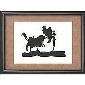"""Картины и панно ручной работы. Ярмарка Мастеров - ручная работа Пикассо  """"Тореадор"""". Handmade."""