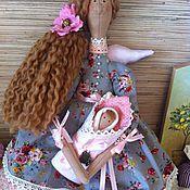 Куклы и игрушки ручной работы. Ярмарка Мастеров - ручная работа КУкла тильда нежный ангел материнства фея. Handmade.