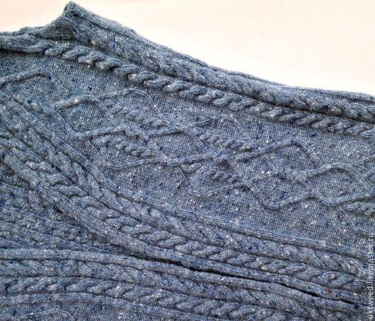 Вязание ручной работы. Ярмарка Мастеров - ручная работа. Купить Soft Donegal Tweed -100% меринос. Handmade. Зеленый
