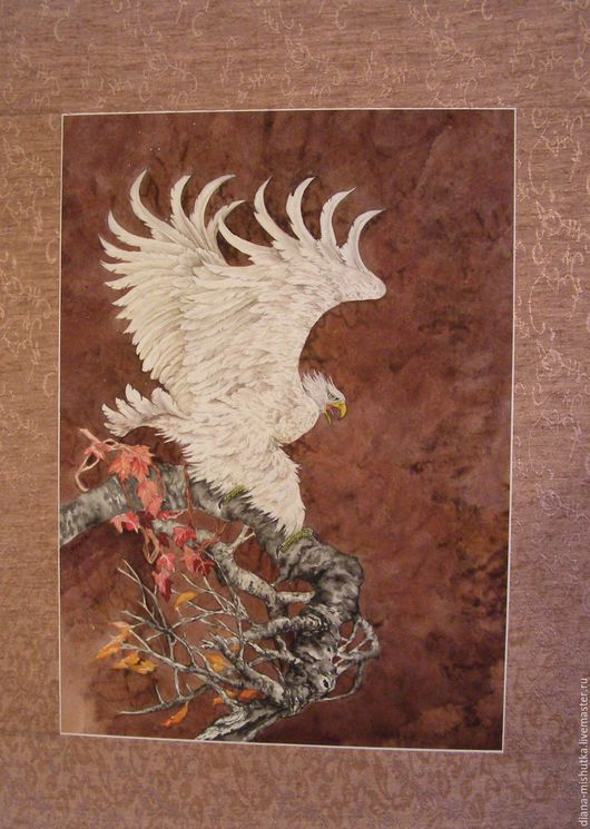 Животные ручной работы. Ярмарка Мастеров - ручная работа. Купить Орел - птица грозная. Handmade. Коричневый, белый орел