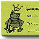Gift Sets handmade. Livemaster - handmade. Buy A set of cards 'the Princess'.Frog, princess, unusual gift