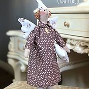 Куклы и игрушки handmade. Livemaster - original item Doll Tilda: Sleepy angel. Handmade.