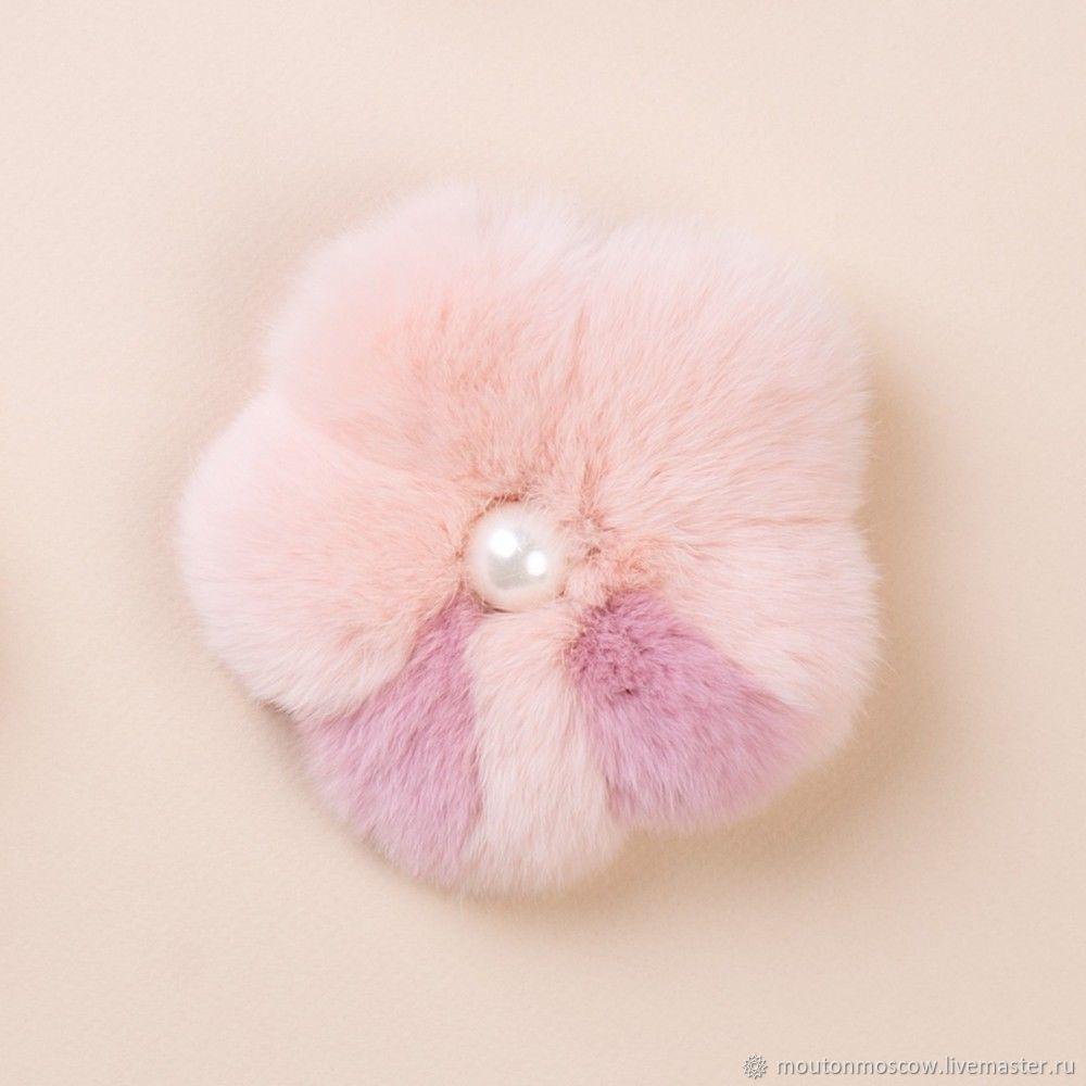 Шарм-цветок персиковый, Брелок, Москва,  Фото №1