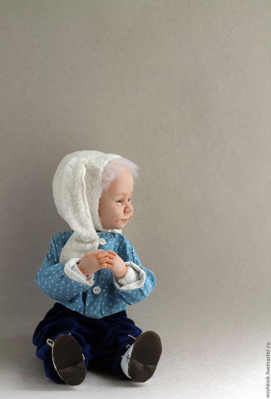 Мишки Тедди ручной работы. Ярмарка Мастеров - ручная работа. Купить Тедди долл Зайка маленький.. Handmade. Тедди-долл