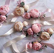 Свадебный салон ручной работы. Ярмарка Мастеров - ручная работа Браслеты для подружек невесты. Handmade.