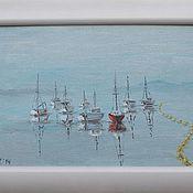 """Картины и панно ручной работы. Ярмарка Мастеров - ручная работа Картина """"Штиль"""". Handmade."""