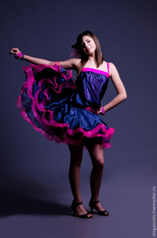 3771968ae53 Dance Costumes handmade. Livemaster - handmade. Buy Latina dress for ballroom  dance SPLENDOR DECADENCE ...