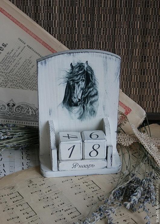 """Календари ручной работы. Ярмарка Мастеров - ручная работа. Купить """"Фаворит"""". Handmade. Белый, дерево"""