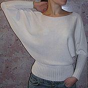 Одежда ручной работы. Ярмарка Мастеров - ручная работа Летучая мышь. Белая. Handmade.