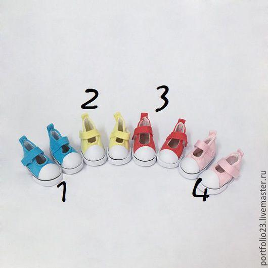Куклы и игрушки ручной работы. Ярмарка Мастеров - ручная работа. Купить Туфельки  для куклы 5 см. РАЗНЫЕ. Handmade. Комбинированный